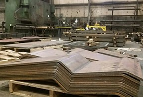 heavy plate forming